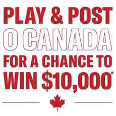 My O Canada contest yamaha music enter now