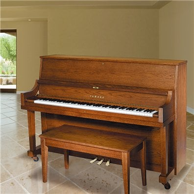 Upright pianos pianos musical instruments products for Yamaha piano upright