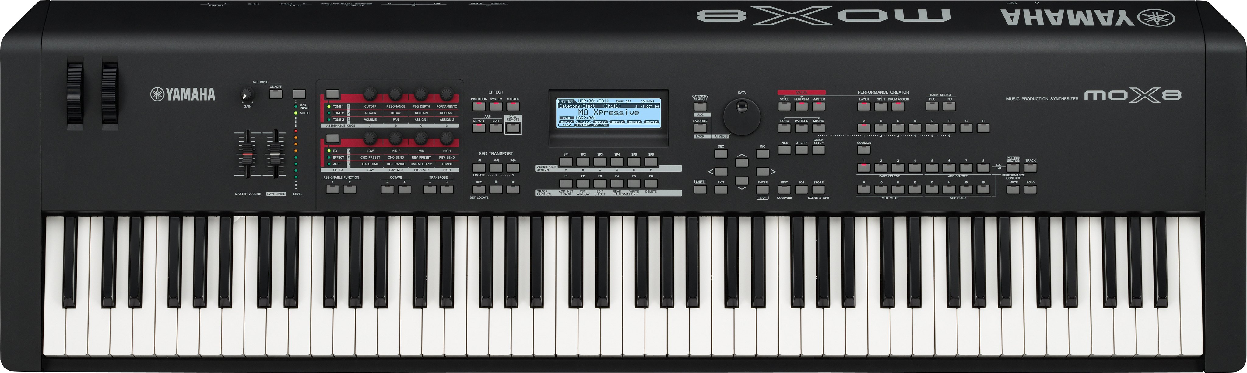 mox series overview synthesizers synthesizers stage pianos products yamaha canada. Black Bedroom Furniture Sets. Home Design Ideas