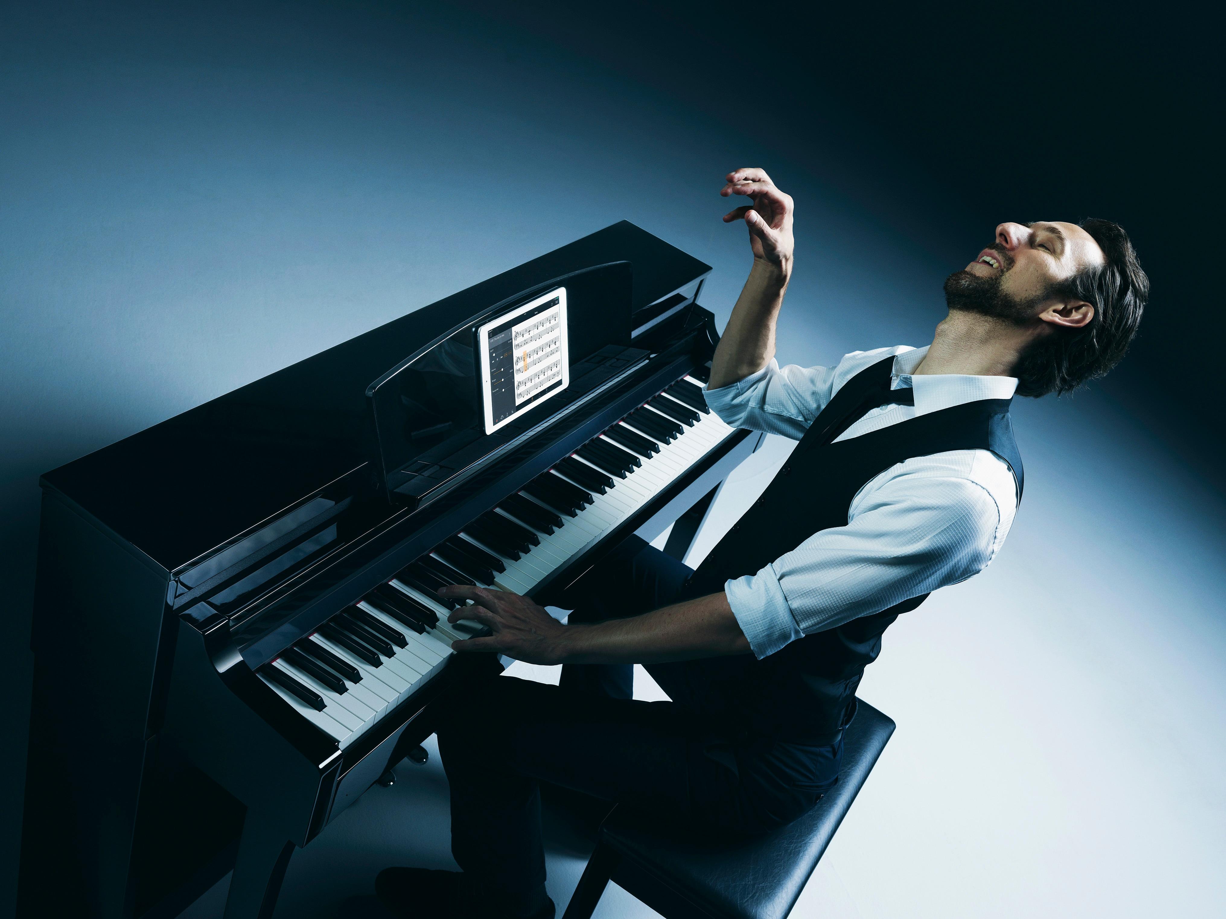 Csp 150 gallery clavinova pianos musical for Yamaha clavinova dealers