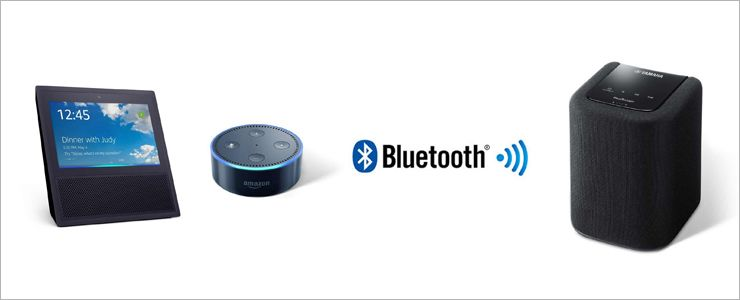 How to Bluetooth Pair Echo with a MusicCast Device