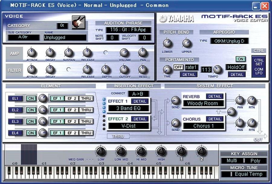 Yamaha motif rack es firmware update