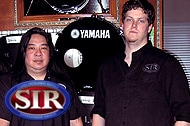 Ron Pak, Production Coordinator / Evan Johns, Drum Dept Manager
