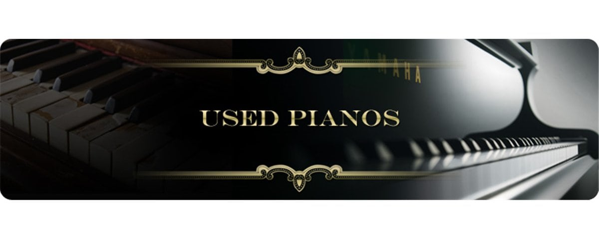 Yamaha Used Pianos Banner