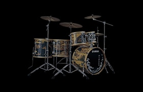 "[ Photo ] [2007] Yamaha Drum 40th / 40th Anniversary Kit ""Washi"" model"